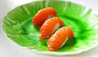 Stadig flere nordmenn spiser sushi
