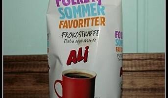 Frokostkaffe fra Ali
