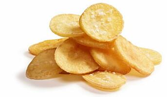 Friterte potetskiver fra Hoff