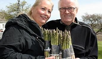 Den norske aspargesen er her