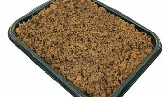 Ferdig stekt kjøttdeig fra Haugen-Gruppen