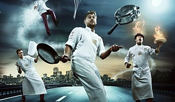 Flying Culinary Circus med  nye produkter
