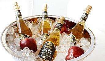 Cider med champagnekork