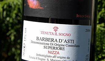 Norsk toppvin fra Italia