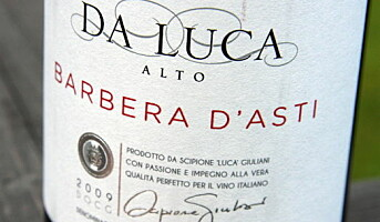 Da Luca Alto Barbera dAsti 2009