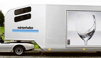 Winterhalter på turne med supertrailer