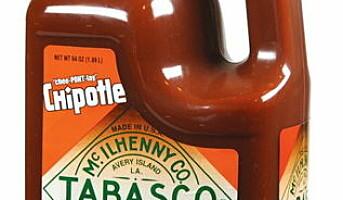 Tabasco Chipotle i storkjøkkenforpakning