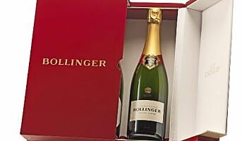 100-årsjubileum for Bollinger Special Cuvée