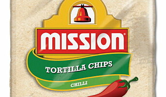 Tortillachips med chili for storkjøkkenet