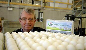 Klar med økologisk eggmasse
