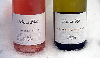 Rosé og hvitt fra Laurent Miquel