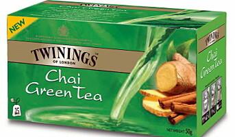 Nye grønne teer fra Twinings