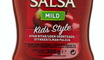 Nye salsaer i praktiske klemflasker