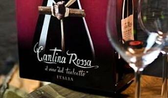 Ny Cantina Rossa i ny innpakning