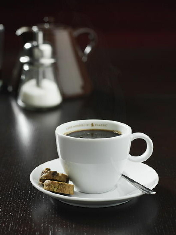 Kaffe illustrasjon