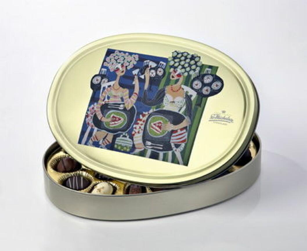 Sv. Michelsen sjokolade kunstdåsen 2011