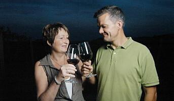 Norsk Barbera-vin fra Italia