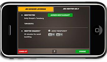 Dollys Pizzabygger - nå også som iPhone app
