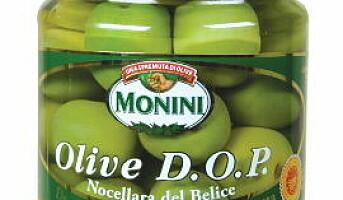 Monini D.O.P Nocellara del Belice oliven