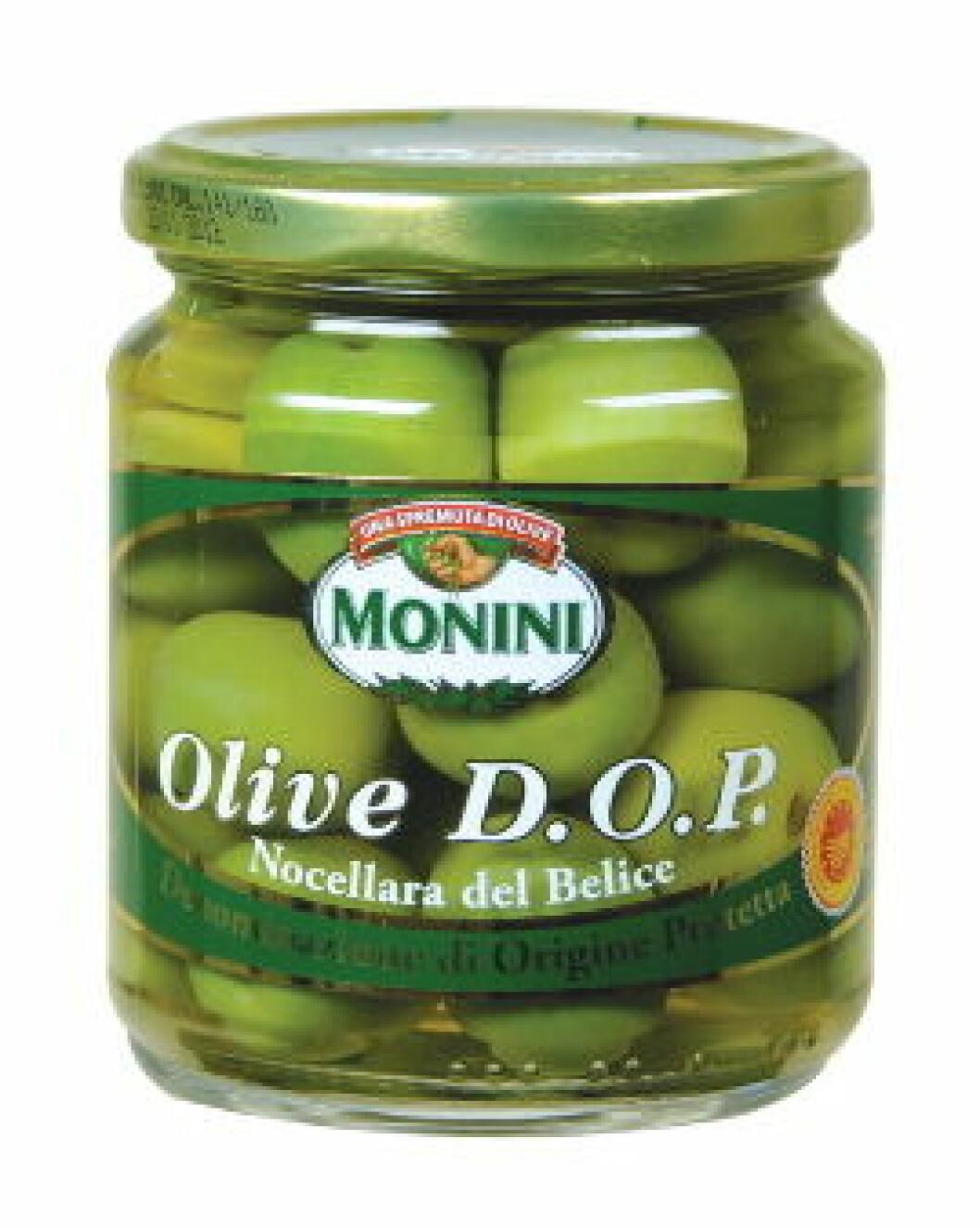 Monini DOP Oliven m-sten