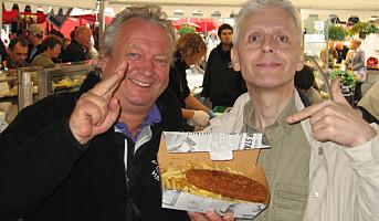 300 000 porsjoner Fishn Chips