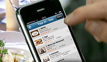 Restaurantguide på iPhone