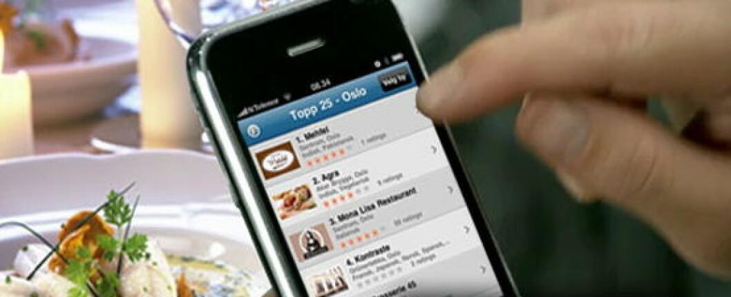 Restaurantguide iphone