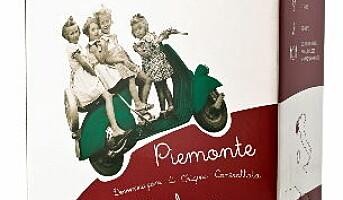 Vespa Piemonte Barbera på boks