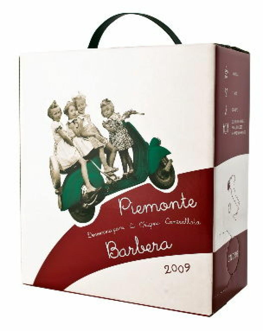 Vespa Piemonte Barbera
