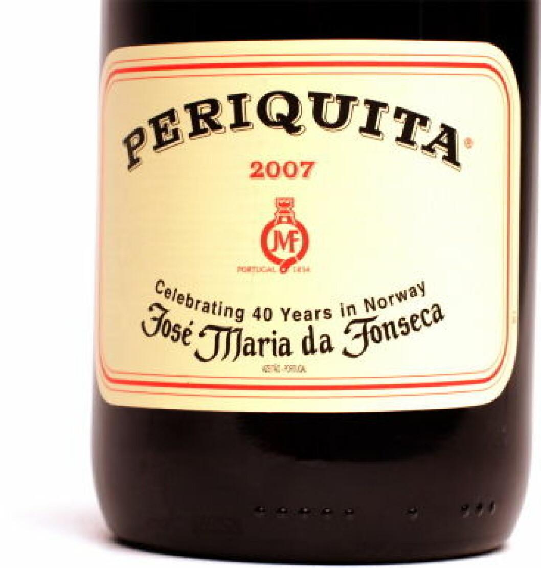 Periquita Portugal 40 år Norge