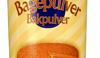 Nyhet i Norge  Tørsleffs Bakepulver