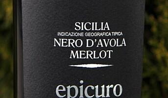 Epicuro Nero dAvola Merlot 2008