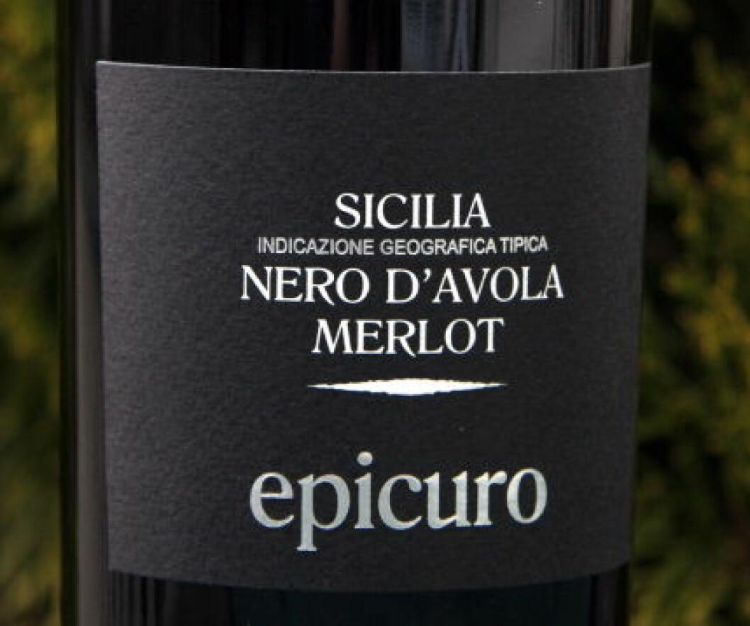 Epicuro Nero3B NETT