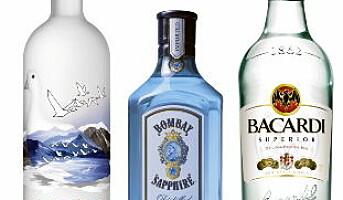 Bacardis varemerker er populære