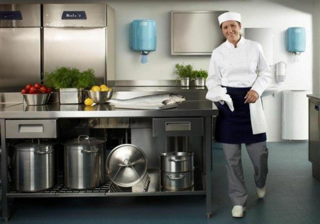 Tork Horeca rent kjøkken
