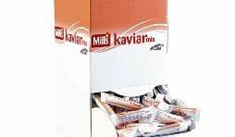 Mills kaviar i ny forpakning