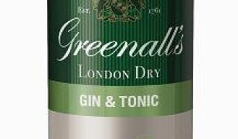 Ferdig mikset Gin & Tonic for minibaren
