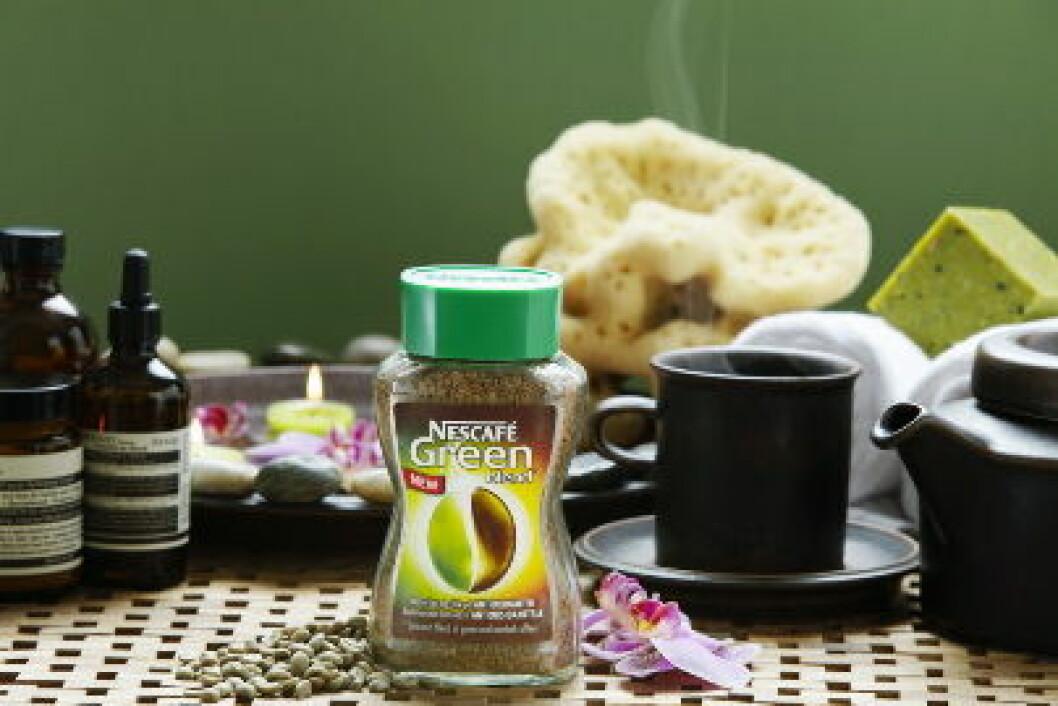 Neskafe grønn kaffe1