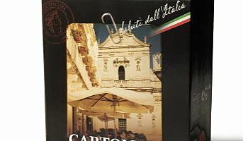 Postkort fra Italia på boks