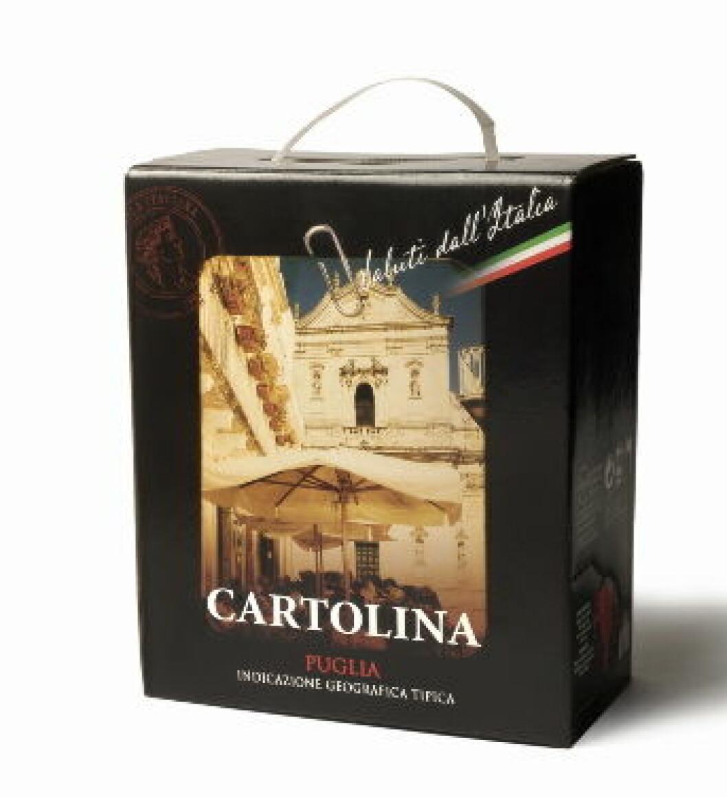 Cartolina Puglia BIB nett
