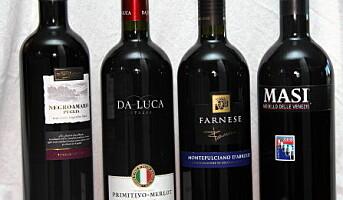 Fire italienske årgangsendringer