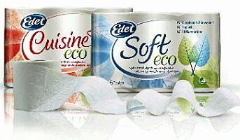 Miljøvennlig toalettpapir - Edet Eco