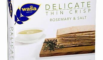 WASA lanserer Delicate thin crisp