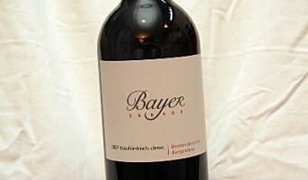 Østerriksk rødvin: Blaufränkisch Classic 2007