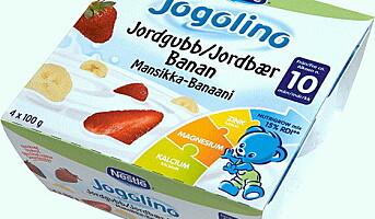 Jogolino - yoghurt helt uten sukker