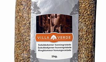 Villa Verde lanserer fire varianter av ristede kjerner og bær