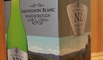 2-liter hvitvin fra New Zealand