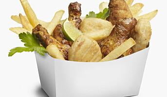 Kyllingmix: Fingermat i ferdige porsjonspakninger
