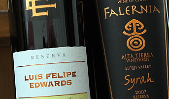 To chilenske viner fra Arvid Nordquist AS