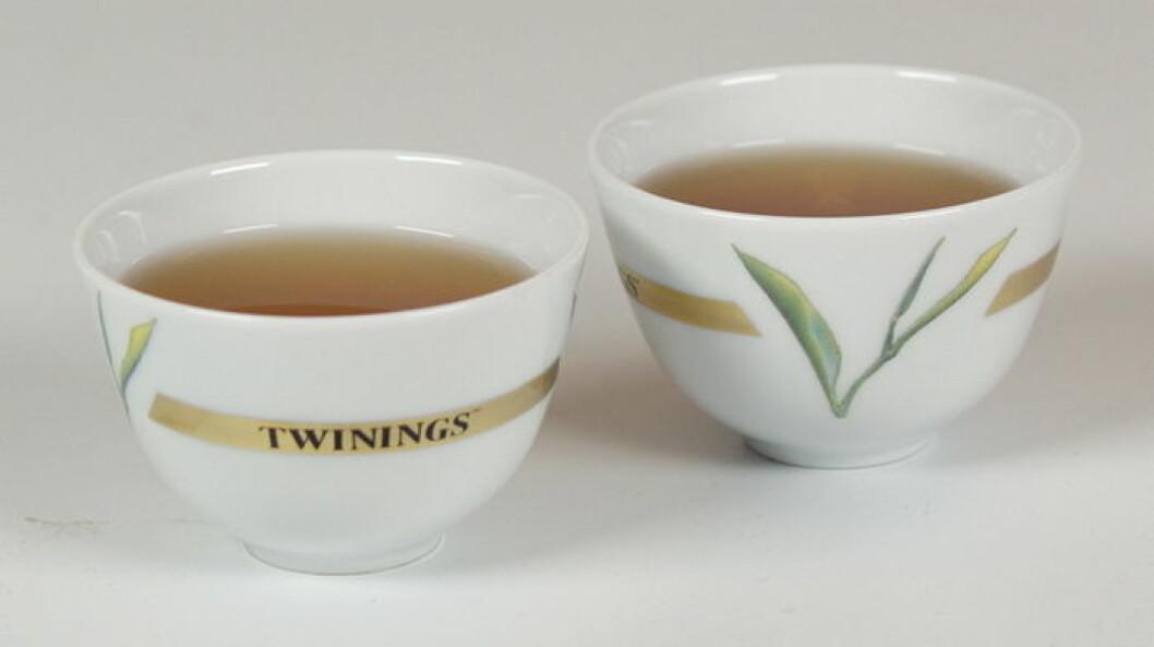 Twinings te grønn te nett